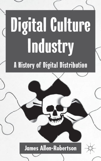 Book cover: Digital Culture Industry